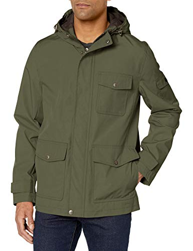 Dockers Thorn Trail - Chaqueta impermeable para hombre - Verde - Small