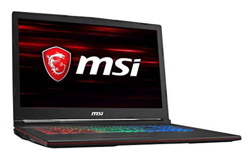 MSI GP73 Leopard 8RF-296 3052393 43,9 cm (17,3 Zoll) Gaming-Laptop (Intel Core i7-8750H, 16GB RAM, 256GB SSD, 1TB HDD, Nvidia GeForce GTX 1070, Windows 10 Home) schwarz