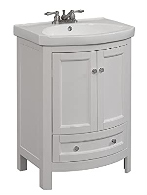 RunFine RFVA0069W vanity, 19 x 24.6 x 34, White Finish