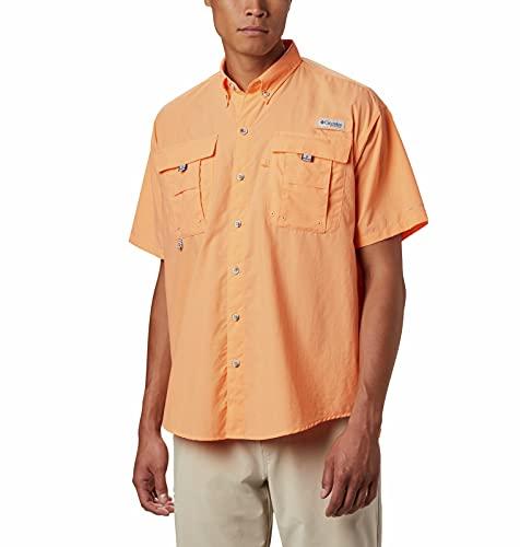 Columbia Bahama II Chemise à Manches Courtes pour Homme - Orange - XXX-Large