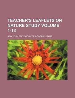 Teacher's Leaflets on Nature Study Volume 1-13
