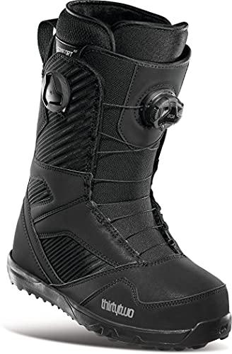 Thirty Two STW Double BOA - Botas de snowboard para mujer, color negro, talla 6
