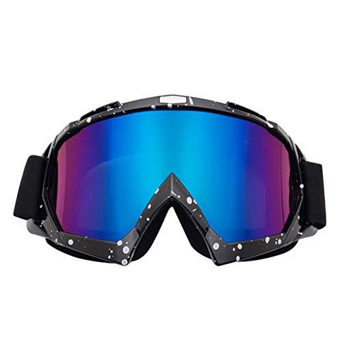 Gafas de esquí,Gafas de Esquí Esféricas Grandes Sin Marco para Hombres y Mujeres,Máscara de Esquí de Doble Capa y OTG,Protección UV400 y Antiniebla,Máscara de Snowboard,for Mujer & Hombre