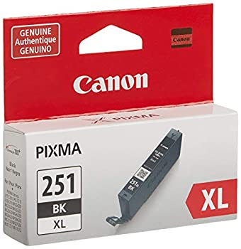 Canon CLI-251XL Black Ink Tank Compatible to MG6320  IP7220 & MG5420 MX922 MG5520 MG6420 MG7120 iX6820 iP8720 MG7520 MG6620 MG5620
