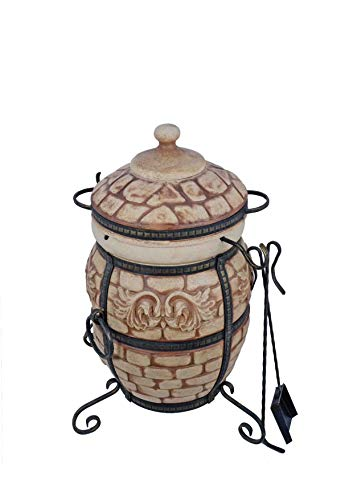 Grand Tand Tandoor Venedig Tandoori Tandir Тандыр Tandur Grill Flrischmecker Ofen BBQ Barbecue Mangal