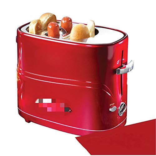 tostadora Pop-up Hot Dog Toaster Mini Máquina De Desayuno, Hogar Mini Hot Dog Machine, Horno De Pan/Salchicha Tostadora 220-240v