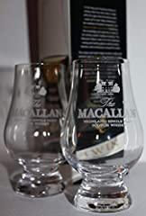 "LEAD FREE CRYSTAL EACH GLASS HOLDS 6-3/4 OZ EACH GLASS IS 4-1/2"" TALL TWIN PACK BOX EXPLAINING THE FIVE WAYS TO APPRECIATING SCOTCH WHISKY"