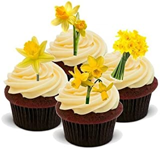 Best edible daffodil cake decorations Reviews