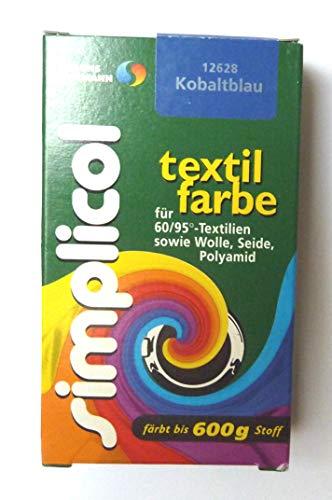 Simplicol  Restposten Textilfarbe 25g Kobaltblau von Brauns-Heitmann 19,96€/100g