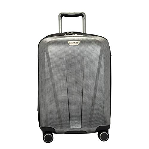 Ricardo Beverly Hills San Clemente 2.0 21-Inch Carry-On Suitcase (Moon Silver)