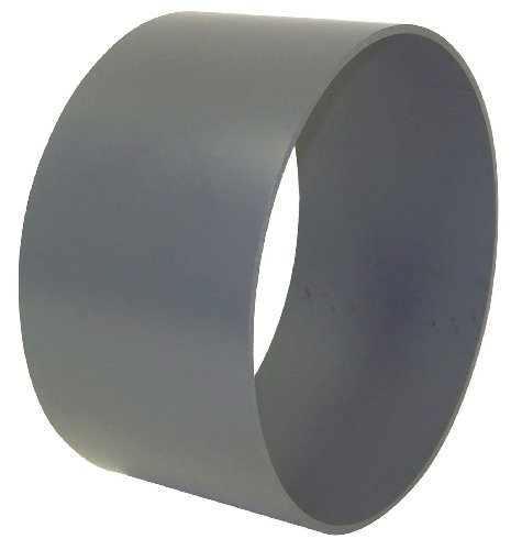 Plastic Supply PVCC10 PVC Coupling, 10' Dia, 10-3/4' Sleeve ID, 6'L (+/- 1/2')