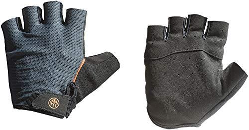 Beretta Leichte Fingerlose Handschuhe, Unisex, Schwarz/Grau, Größe M