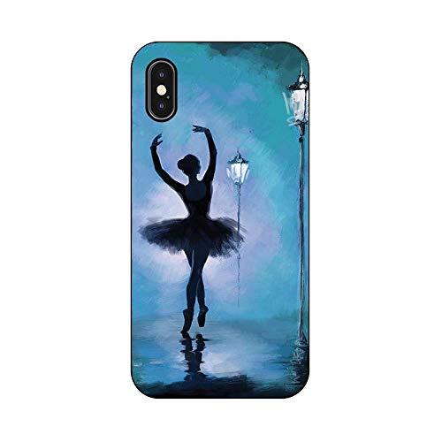 EREMITI JEWELS Cover Morbida Compatibile per iPhone Modello Dancing in The City danzando per la Citta' (5)