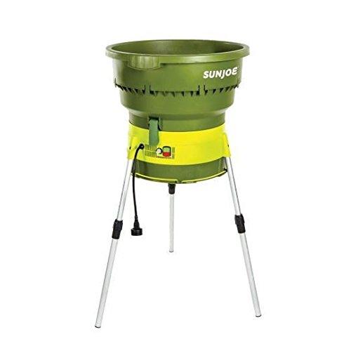 Sun Joe SDJ616 13-Amp 16:1 Reduction Electric Leaf Mulcher/Shredder, Green