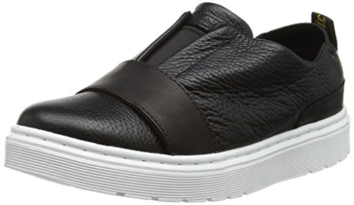Dr. Martens Damen Lylah Slipper, Schwarz (Black Temperly/Aunt Sally), 39 EU