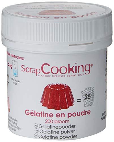 Scrapcooking Pot De Gélatine En Poudre 50 G