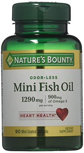 Aceite De Pescado 1290 Mg, 90 Mini Capsulas Blandas Inodoras