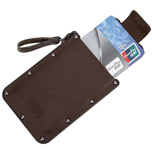 Yeelur Ultra-Thin Pull Design Package Brieftasche Geschenk Multifunktionales Kartenetui, Kartenmappe, Keynotes für Münzen