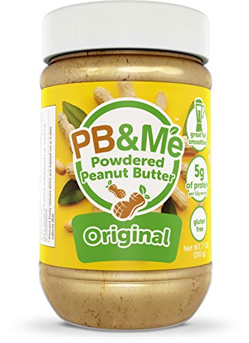 PB&Me Peanut Butter Powder, Original Flavor, Keto Friendly, Gluten Free, High in Protein, Great for Smoothies!