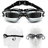 SUOTENG Gafas De Natación Polarizadas, Adulto Myopia Natación Gafas...