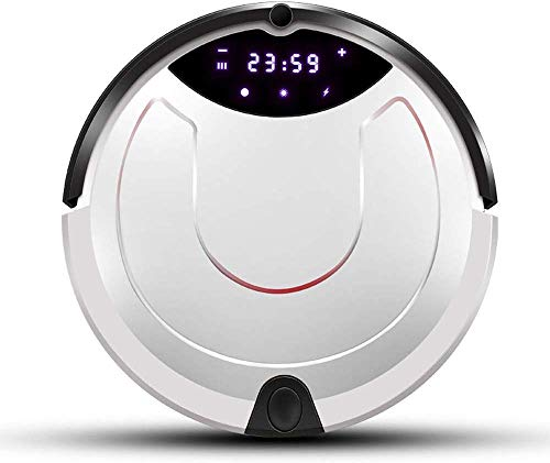 8bayfa CNCBT Haushalt Roboter-Staubsauger, Automatische Aufladung Super-Sound-Off Intelligent Anti Fallen Intelligente Kollisionsvermeidung Fernbedienung Geplante Reinigungsbetrieb