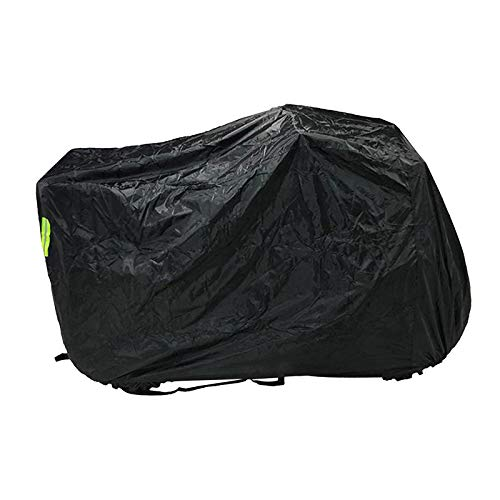 Gazechimp Lockholes M- Cubierta Profesional para ATV para Protege El ATV de La Lluvia Sol Aguanieve Polvo Granizo Viento UV Exterior - XL Negro