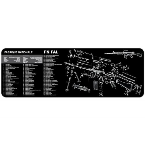 TekMat Gun Cleaning Mat for use with FN FAL
