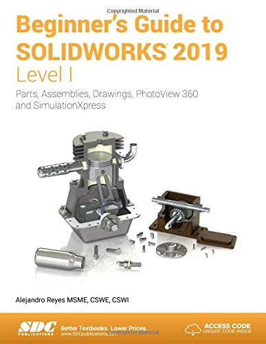 Download Beginner's Guide To SOLIDWORKS 2019 - Level I 