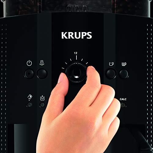 KRUPS ESSENTIAL NOIRE Machine à café à grain Machine...