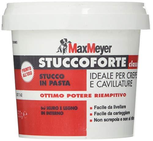 MaxMeyer Stucco in pasta per interni BIANCO 0,5 KG