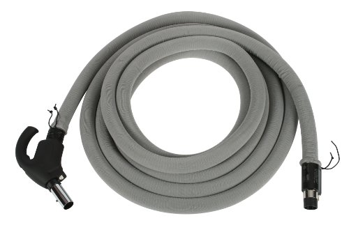 Cen-Tec Systems 90298 Central Vacuum Direct Connect Electric Hose, 30'