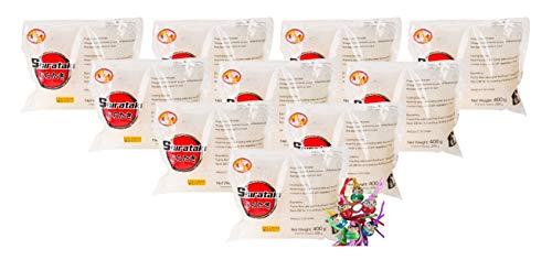 yoaxia ® - 10er Pack - [ 10x 400g / 200g ATG ] Konjak Nudeln Shirataki