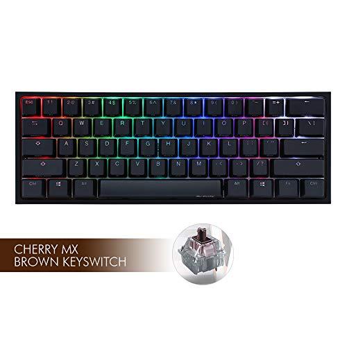 Ducky ONE 2 Mini RGB 60% Cherry MX Brown Tastatur