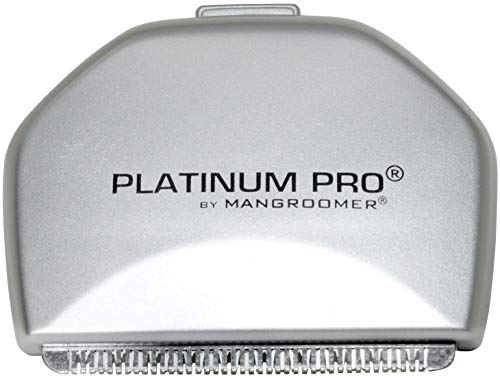 Price comparison product image PLATINUM PRO by MANGROOMER - New Back Hair Shaver Replacement Blade with 1.8 Inch Wide Blade Design!