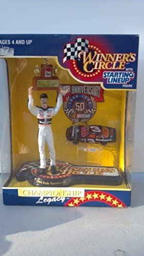 Venta barata 1994 1994 1994 Winner's Circle with Starting Lineup Dale Earnhardt Figure Championship Legacy by Kenner  comprar marca