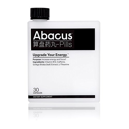 UPGRADE YOUR ENERGY. – Abacus Provides Increased Focus and Energy. DESIGNED BY CODERS. – Abacus Has Only What You Need For Energy, Nothing You Don't. – Vitamin B-12 (as Methylcobalamin), Caffeine, Ginkgo Biloba (leaf) Extract, and L-Theanine STUDY BE...