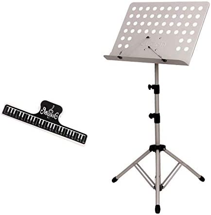 Sheet Music Stands Portable Height Adjustment Three-Stage Over item handling ☆ Tripo Sale item