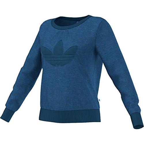 adidas Originals - Sudadera para mujer (talla 34), color azul