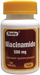 Niacinamide 500 mg 100 Tabs