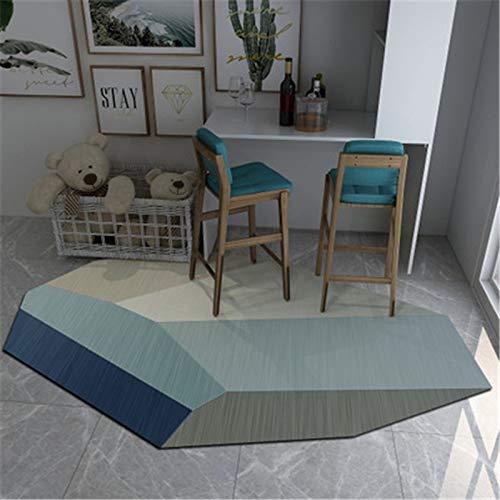 Europäische Art Abstrakt Speziell Geformte Unregelmäßige Einfache Fußmatten Wohnzimmer Schlafzimmer rutschfeste Dicke Fußmatten Couchtisch Sofa Hotel Bed & Breakfast Party Teppich