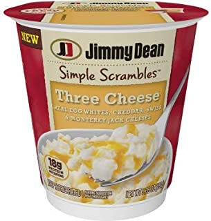 Jimmy Dean Simple Scrambles, Three Cheese Breakfast Cup, 5.35 Oz. (6 count)