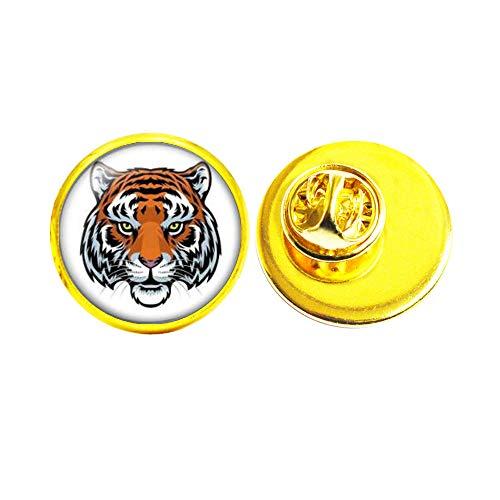 Broche de la bestia del tigre con encanto de animales, broche de tigre, regalo de cumpleaños #146