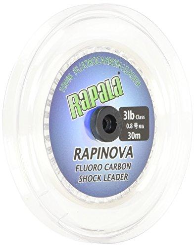 Rapala(ラパラ) リーダー ラピノヴァ ショックリーダー フロロカーボン 30m 0.8号 3lb クリア RFL30M3