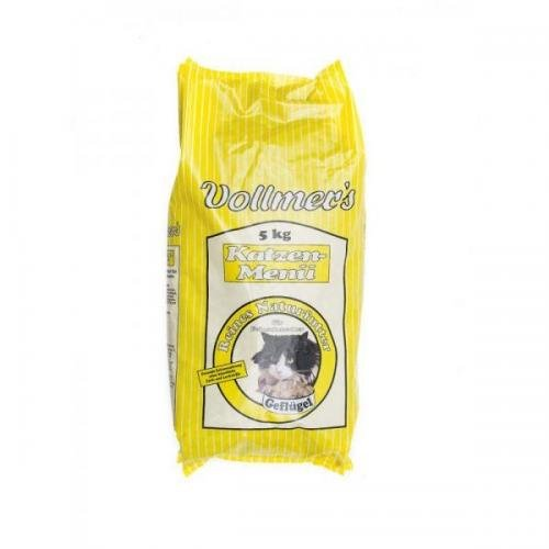 Vollmers Katzen-Menü Geflügel 5kg, Trockenfutter, Katzenfutter