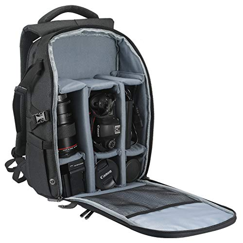 BELONGME Camera Backpack with Laptop Compartment 15.6', Waterproof Camera Bags for...