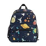Cute Kid's Backpack Toddler Bag for Boys Girls Chest Clip Preschool Nursery Bag