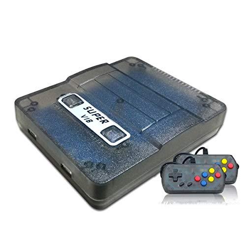 Anbernic Console di Gioco Portatile, 169 Giochi Classici (30 Giochi vibranti) Supporta Diverse modalità di visualizzazione TV per Console di Videogioco Portatile Portatile a Due Giocatori (Nero)