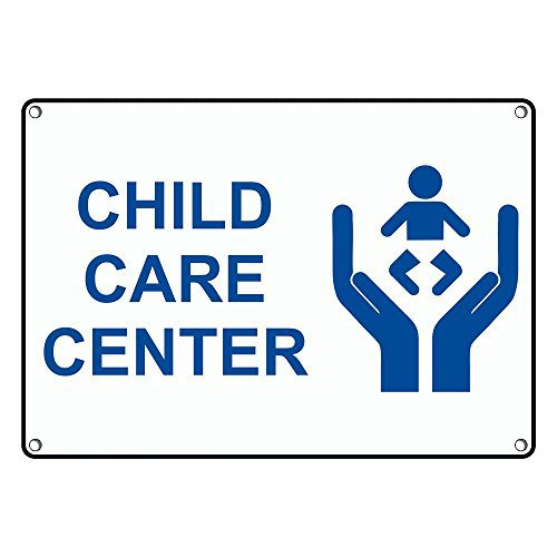 Weatherproof Plastic Miami Mall Child Care Center Sign Text with an English 25% OFF