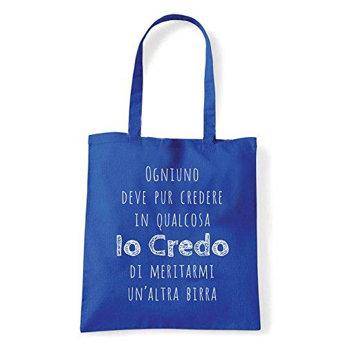 Art T-shirt, Shoulder Credo in de keukenkast, Shopper, Mare