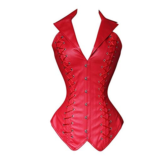 GDCAKMI Minceur Ceinture Minceur Ceinture Minceur Ceinture Ceinture en Cuir Corset Steampunk Goth Corset Taille...